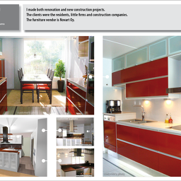 Portfolio7 Red Kitchen